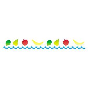 Stencil-Opa-4x30cm-para-Pintura-Simples-OPA067-Frutas