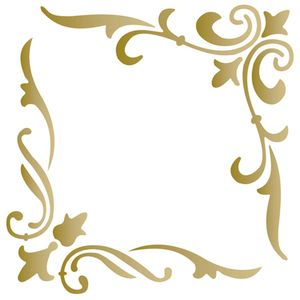 Stencil-Opa-15x20cm-para-Pintura-Simples-OPA163-Cantoneira-Arabesco