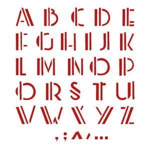 Stencil-Opa-20x25cm-para-Pintura-Simples-OPA476-Alfabeto-Reto
