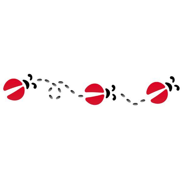 Stencil-Opa-6x30cm-para-Pintura-Simples-OPA810-Joaninhas
