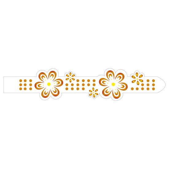 Stencil-Opa-6x30cm-para-Pintura-Simples-OPA954-Fita-Flores