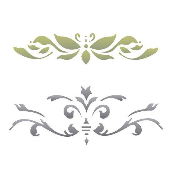 Stencil-Opa-15x20cm-para-Pintura-Simples-OPA235-Arabesco-Colonial