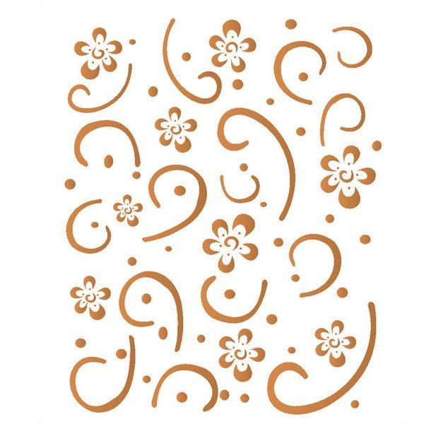 Stencil-Opa-15x20cm-para-Pintura-Simples-OPA381-Estamparia-Flores