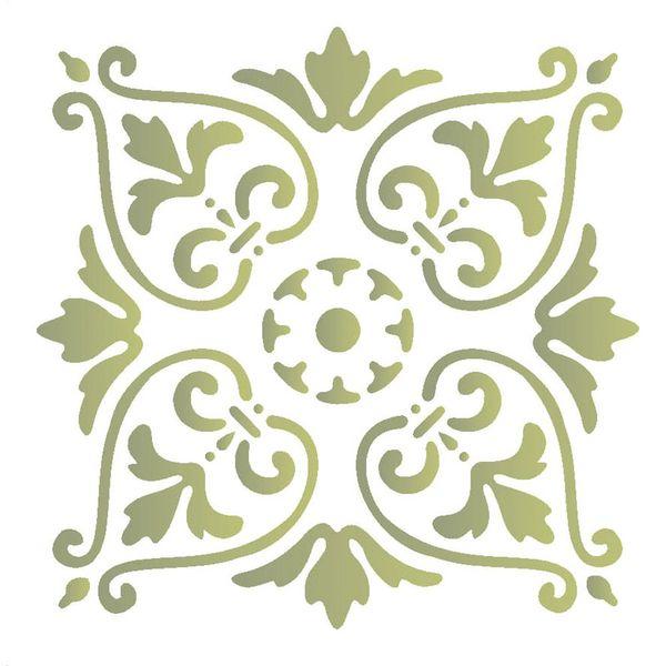 Stencil-Opa-15x20cm-para-Pintura-Simples-OPA418-Arabesco-Portugues