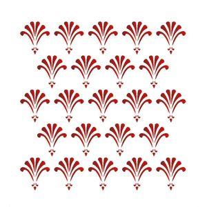 Stencil-Opa-15x20cm-para-Pintura-Simples-OPA1316-Estamparia-Flor-Leque