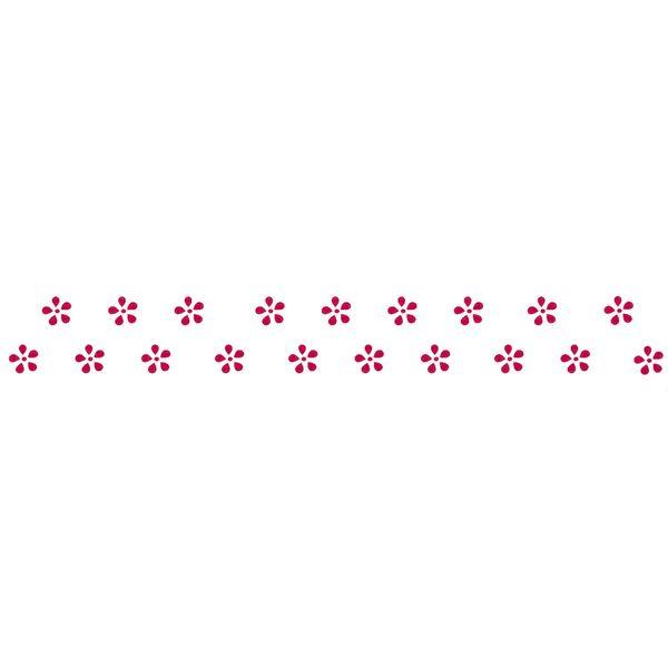 Stencil-Opa-4x30cm-para-Pintura-Simples-OPA293-Flores-Mini-Margaridas