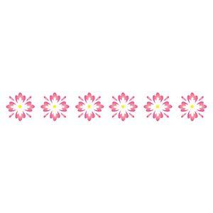 Stencil-Opa-4x30cm-para-Pintura-Simples-OPA454-Flores-II