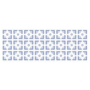 Stencil-Opa-10x30cm-para-Pintura-Simples-OPA1081-Estampa-Flor-Geometrica
