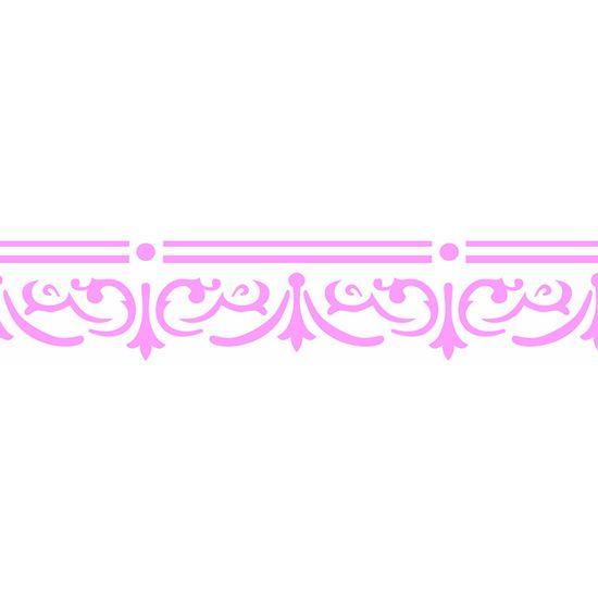 Stencil-Opa-6x30cm-para-Pintura-Simples-OPA2320-Arabesco-Vitoriano