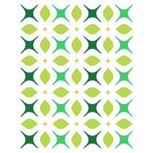 Stencil-Opa-15x20cm-para-Pintura-Simples-OPA2345-Estamparia-Flor-4-Pontas