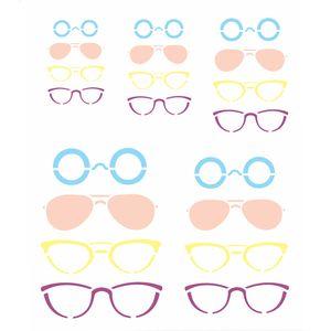 Stencil-Opa-20x25cm-para-Pintura-Simples-OPA2365-Oculos