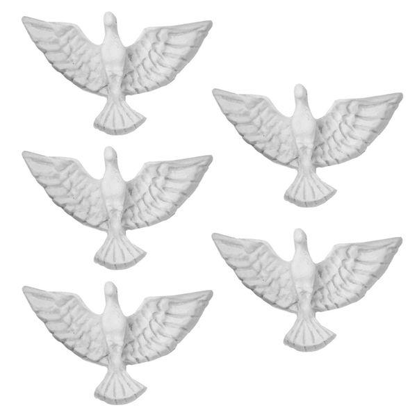 Aplique-Divino-Espirito-Santo-Ornamento-3x42x1cm-com-5-Pecas---Resina