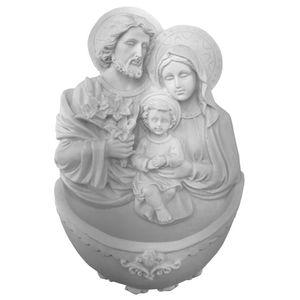 Enfeite-de-Parede-Pia-Batismal-Sagrada-Familia-185x125x5cm---Resina