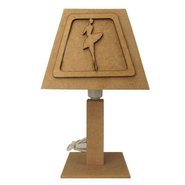 Abajur-Conico-3D-em-MDF-Bailarinas-18x18x32cm---Palacio-da-Arte