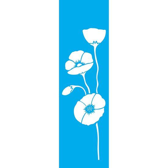 Stencil-Litocart-295X85cm-para-Pintura-Simples-LS-063-Flores