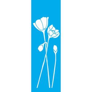 Stencil-Litocart-295X85cm-para-Pintura-Simples-LS-064-Flores