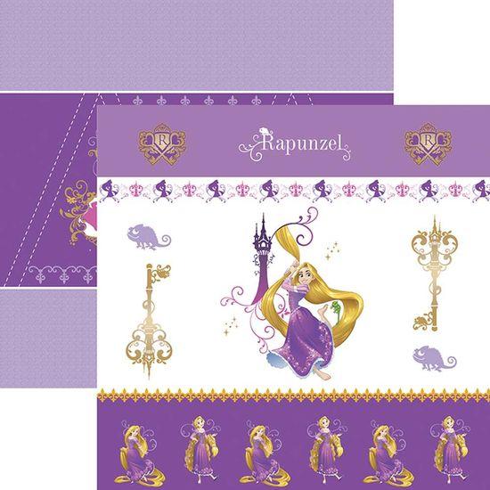 Papel-Scrapbook-Toke-e-Crie-SDFD148-Dupla-Face-305x305cm-Rapunzel-1-Cenario-e-Bandeirolas