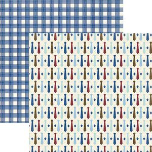 Papel-Scrapbook-Toke-e-Crie-SDF824-Dupla-Face-305x305cm-Ele-Gravatas-By-Ivana-Madi