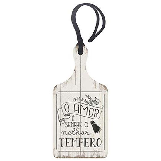 Placa-TAG-MDF-Decorativa-Litoarte-DHT2-026-143x7cm-O-Amor-e-Sempre-o-Melhor-Tempero