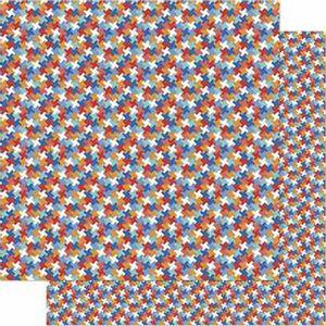 Papel-Scrapbook-Litoarte-SD-718-Dupla-Face-305X305cm-Padrao-Geometrico