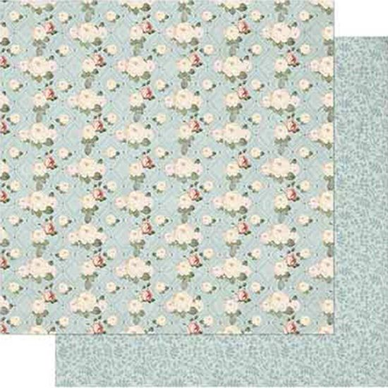 Papel-Scrapbook-Litoarte-SD-727-Dupla-Face-305X305cm-Shabby-Chic-Mini-Rosas