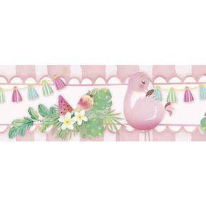 Barra-Adesiva-Litoarte-BDA-IV-757-Flamingos-Infantis-436x4cm