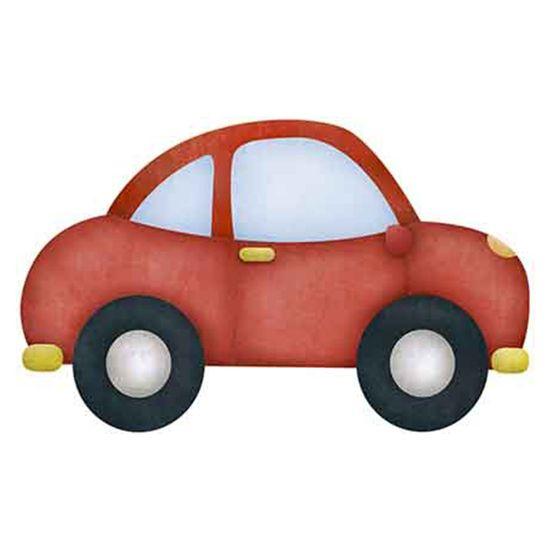 Aplique-Decoupage-Litoarte-APM8-854-em-Papel-e-MDF-8cm-Carro-Vermelho