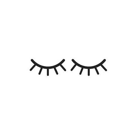 Placa-Decorativa-Litoarte-DHPM-334-24x19cm-Infantil-Olhos-Fechados