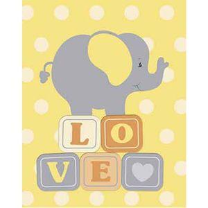 Placa-Decorativa-Litoarte-DHPM-336-24x19cm-Elefante-Love
