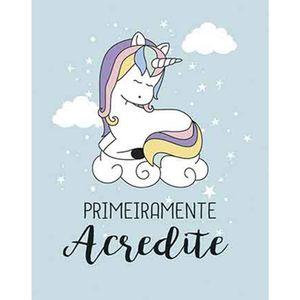 Placa-Decorativa-Litoarte-DHPM-338-24x19cm-Unicornio-Primeiramente-Acredite