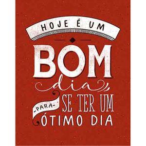 Placa-Decorativa-Litoarte-DHPM-341-24x19cm-Hoje-e-um-Bom-Dia