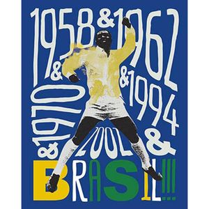 Placa-Decorativa-Litoarte-DHPM-365-24x19cm-Futebol-Brasil