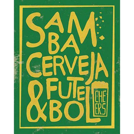 Placa-Decorativa-Litoarte-DHPM-366-24x19cm-Samba-Cerveja---Futebol