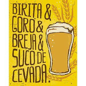 Placa-Decorativa-Litoarte-DHPM-367-24x19cm-Birita---Goro---Breja---Suco-de-Cevada