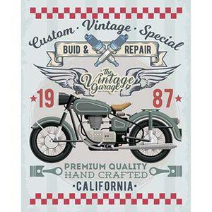 Placa-Decorativa-Litoarte-DHPM-372-24x19cm-Moto-Verde