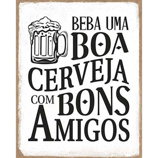 Placa-Decorativa-Litoarte-DHPM-391-24x19cm-Beba-uma-Boa-Cerveja