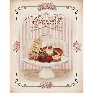 Placa-Decorativa-Litoarte-DHPM-394-24x19cm-Bombons-Chocolate