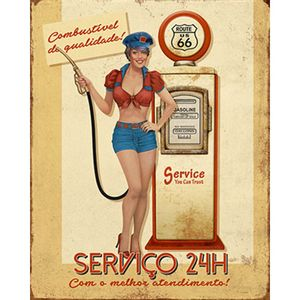 Placa-Decorativa-Litoarte-DHPM-226-24x19cm-Pin-Up-Bomba-de-Gasolina