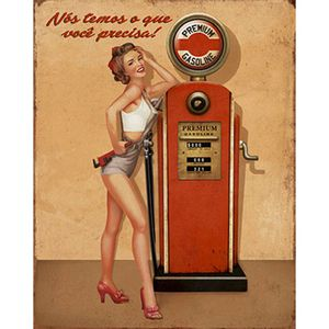 Placa-Decorativa-Litoarte-DHPM-227-24x19cm-Pin-Up-Bomba-de-Gasolina-Premium
