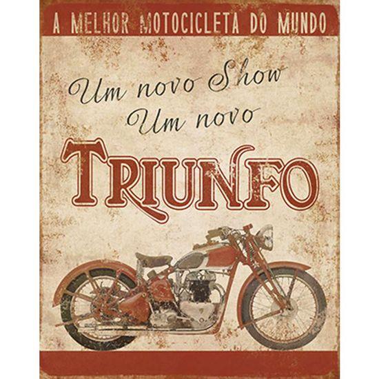 Placa-Decorativa-Litoarte-DHPM-231-24x19cm-Moto-Triumph