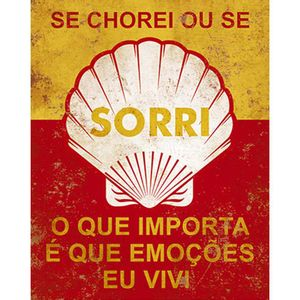 Placa-Decorativa-Litoarte-DHPM-234-24x19cm-Se-Chorei-Ou-Se-Sorri