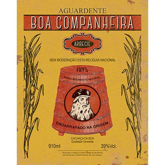 Placa-Decorativa-Litoarte-DHPM-250-24x19cm-Aguardente-Boa-Companheira