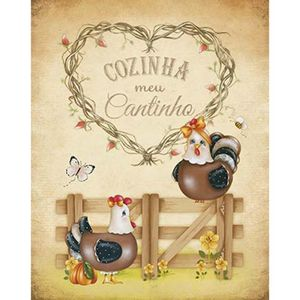 Placa-Decorativa-Litoarte-DHPM-252-24x19cm-Cozinha-Meu-Cantinho