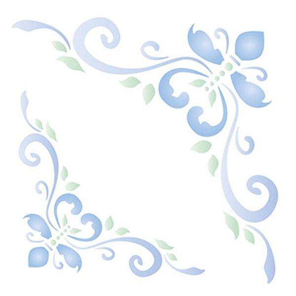 Stencil-Litoarte-14x14cm-para-Pintura-Simples-STA-092-Cantoneira-Ornamento