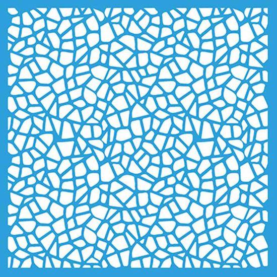 Stencil-Litoarte-14x14cm-para-Pintura-Simples-STA-097-Mosaico