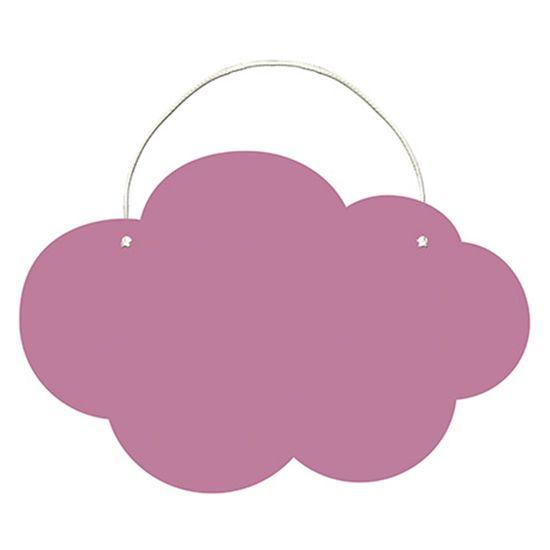 Placa-Decorativa-Lousa-em-MDF-Litoarte-DHLO-009-44x295cm-Nuvem-Rosa