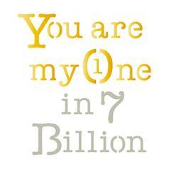 Stencil-Litoarte-10x10cm-Pintura-Simples-ST-X260-You-Are-My-One-In-7-Billion
