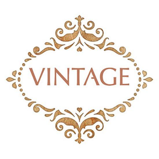 Stencil-Litoarte-10x10cm-Pintura-Simples-ST-X331-Selo-Vintage