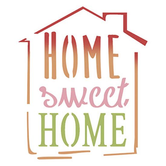 Stencil-Litoarte-10x10cm-Pintura-Simples-ST-X339-Selo-Home-Sweet-Home