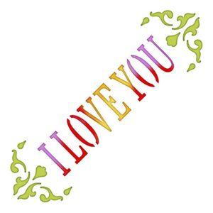 Stencil-Litoarte-10x10cm-Pintura-Simples-ST-X342-I-Love-You